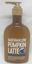 1 Bath & Body Works Marshmallow Pumpkin Latte Nourishing Hand Soap 8 oz