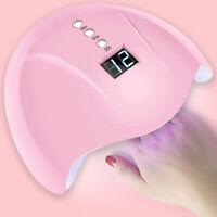 36W UV LED Nail Lamp Gel Nail Polish Dryer UV Light Fast Curing Manicure Pink