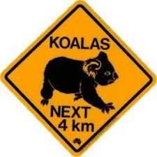 Koala Strassen Schild Roadsign next .. 25x 25cm Koalas Australien