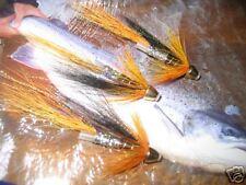 3 V Fly 1.5 Inch Original Cascade Conehead Salmon Tube Flies & Trebles