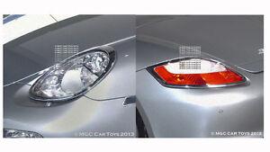 Porsche Boxster & Boxster S Headlight & Tail Light Chrome Trim Upgrade 2005-2008