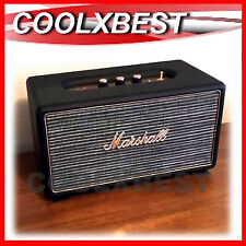 MARSHALL STANMORE ACTIVE BLUETOOTH STEREO SPEAKER BLACK RCA OPTICAL AUX-in (RFB)