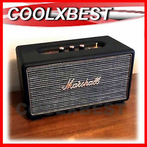 MARSHALL STANMORE BLUETOOTH STEREO SPEAKER BLACK APTX 80W RMS RCA AUX-in (RFB)