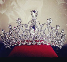 Charm Bridal Wedding Women's Hair Headband Crown Comb Tiara Prom Pageant Jewelry