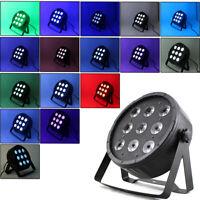 Éclairage Par Scène DMX512 Effet de Lumière 9-LED RGBW 4 en 1 Lumière 7 canaux