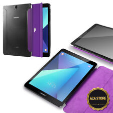 Case For Galaxy Tab S3 9.7 Smart Shell Stand Cover w/Magnetic Purple