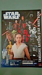2019 Tamashii Nations Star Wars Book Catalogue Ban Dai Japan Figurines