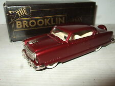 Rare Brooklin BRK 34, 1954 Nash Ambassador  in 1:43 Scale.