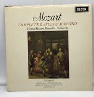 SXL 6199 - MOZART - Complete Dances & Marches Vol 6 BOSKOVSKY WB - NM LP Record