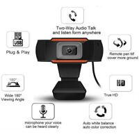 1080P Webcam Web Camera HD Cam Microphone For PC Laptop Desktop