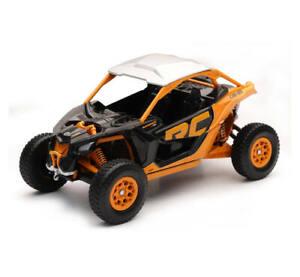 NewRay 1:18 Scale Can-Am Maverick X3 Turbo Die-Cast Replica Toy Orange Crush