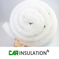 2.5m ABSoft 50mm Car Vehicle Sound Proofing Thermal Insulation Material 625gsm