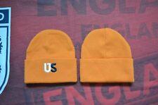 e3a58e327a67b KITH Beanie Hat CAP Logo US Orange