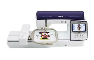 BROTHER NQ3600D Sewing and Embroidery Combo Machine 6x10 Hoop Disney & Lots More