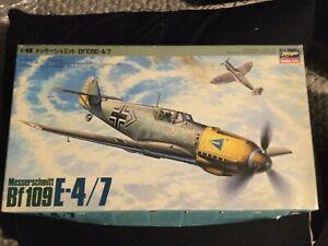 Hasegawa 1/48 Messerschmitt bf109e-4/7