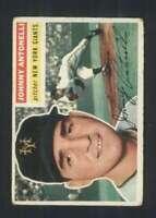 1956 Topps #138 Johnny Antonelli EX/EX+ NY Giants 85447