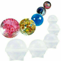 30-60mm Silicone Mold Epoxy Resin Orb Globe Ball Sphere Jewelry Making Craft