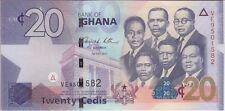GHANA BANKNOTE P#40c 20 CEDIS 1.5.2011 UNCIRCULATED USA SELLER