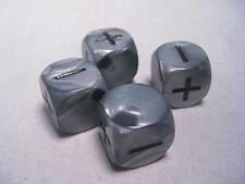 Fudge RPG Dice- Olympic Silver (4) IMP GGG9004OS
