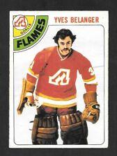1978-79  OPC HOCKEY ,  # 44 , YVES BELANGER , ATLANTA FLAMES