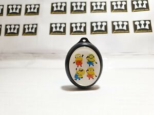 New cute minions keyring mp3 players kids special Black - Perfect Gift