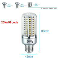 E14 E27 5736 SMD LED Corn Bulbs High Lumens Aluminum Frame Lamps Light 220V