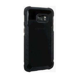 Verizon Matte Silicone Case for Samsung Galaxy S7 Edge (Black)