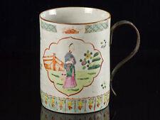 Stoneware Decorative Pottery Mugs