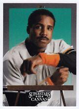 1993 Studio Superstars on Canvas - Barry Bonds - #10 - SF Giants - NrMt-Mt+