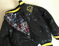 DESIGUAL BOYS REVERSIBLE PUFFA BOMBER JACKET RETAIL £94 AGE 9/10 YEARS