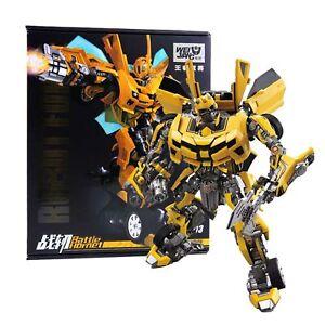 Transformers Mpm03 WEIJIANG WJ Battle Hornet Bumblebee Metal Collection Gift Toy