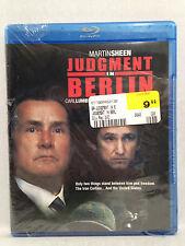 Judgement in Berlin (Blu-Ray, 1988) Widescreen, Martin Sheen, BRAND NEW SEALED!