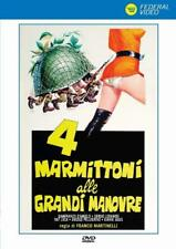 Dvd 4 Stooges alle Ggrandi Maniobras de (1974) - Linóleo Banfi NUEVO