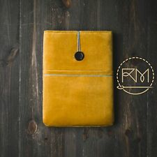 Yellow Sleeve for iPad mini 2 Pouch Cover Padded Velvet Case Bag Purse