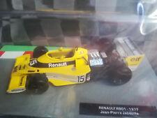 modellino auto renault rso1 1977  Formula 1 Auto Colletion edicola miniatura