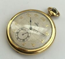 OMEGA GOLD PLATED DRESS/ POCKET WATCH POCKETWATCH CIRCA 1920s/30's