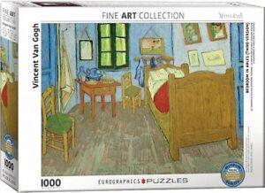 Bedroom in Arles by Van Gogh 1000 piece jigsaw puzzle 680mm x 480mm (pz)