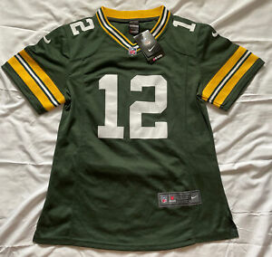 Aaron Rodgers Green Bay Packers Nike On Field NFL Jersey Youth Large 14-16 NWT