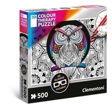 Puzzles Clementoni avec 500 - 749 pièces