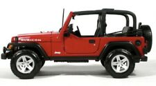 JEEP Wrangler Rubicon REd 1:18 Diecast CAR Model BY Maisto 31663
