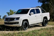 "17"" x 9"" BLACK SOLID VDUB ULTRA TOUGH 4 VW AMAROK 4X4 4X2 STEEL WHEELS HIGHLINE"