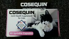 Cosequin Joint Health Supplement for Cats Maximum Strength 60 Sprinkle Capsules