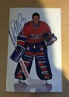SIGNED PATRICK ROY PHOTO #33 HOF -  MONTREAL CANADIENS