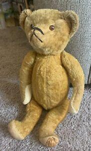 "Antique 15"" German Teddy Bear Humpback No Steiff Cramer Schuco"