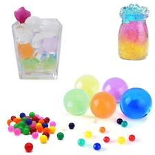 50pcs Large Mixed Coloured Round Water Beads For Pool Party Bathtub Decor Filler