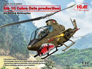 ICM32061 - ICM 1:32 - AH-1G Cobra (late) US Attack Helicopter