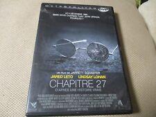 "DVD ""CHAPITRE 27"" Jared LETO, Lindsay LOHAN"
