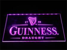 Guinness Draught Neon Light Sign Man Cave Restaurant Pub Bar Bedroom
