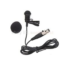 New ME4 Lavalier Lapel Clip Microphone Mic For Shure ULX PGX SLX UT ... Wireless