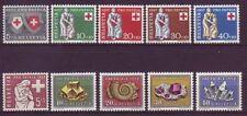 Schweizer postfrische Briefmarken (ab 1945)